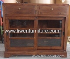 China classical glass chest