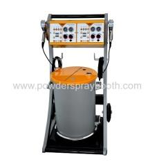 Dual powder coating system