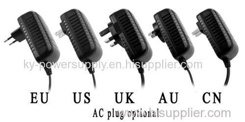 KA04 Output 12V 2.5A EU Plug Shenzhen Keyu AC-DC Power Adapter Model