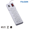 5 Gangs Energy Saving Power Socket with Surge Protector