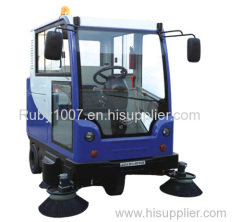 Shandong Coal tracked road sweeper vehicles for sale
