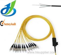 High Quality Single Mode PVC One Core Fiber Optical Cable