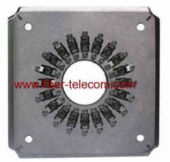 Molde de pulido para conectores de fibra óptica FC