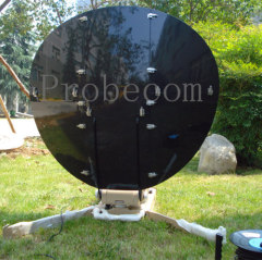1.2 meter carbon fiber automatic small satellite antennas
