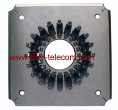 Molde para pulir para conectores de fibra óptica SC