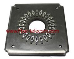 Molde de pulido para conectores de fibra óptica LC