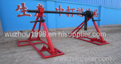 Hydraulic Lifting Jacks For Cable Drums Jack towers Mechanical Drum Jacks