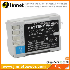 For Olympus E-5 camera battery BLM-5