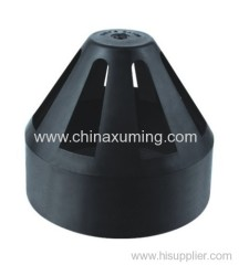 HDPE Siphon Permeability Cap Pipe Fittings