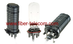 fiber optic joint closure box for aerial