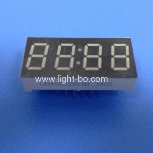Super Red 0.36  (9.2mm) Anode 4-Digit 7-Segment LED Display for STB
