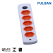 Vertical Socket Universal Multiple Power Strip