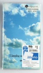 blue sky pocket daily planner book