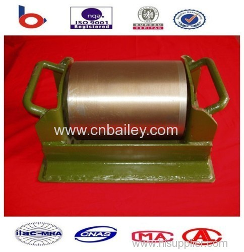Bailey bridge plate roller