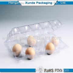 PVC Plastic 15pcs egg trays