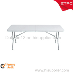 Plastic folding table (table face foldable ) ZTT-544