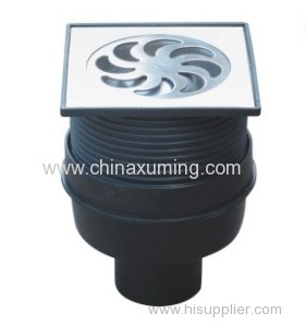 HDPE Made Row Floor Drain Pipe Fittings