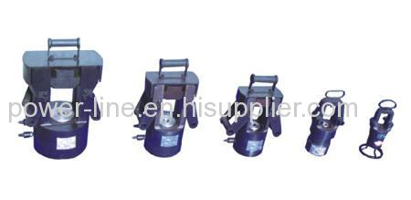 Hydraulic Compressor for compressing earth wire and Aluminum joints