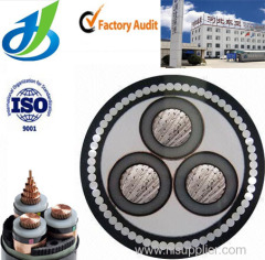 3 Cores XLPE Insulated Power Cable High Voltage Power Cable Up to 35KV