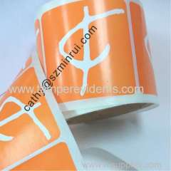 Printing adhesive paper label sticker roll