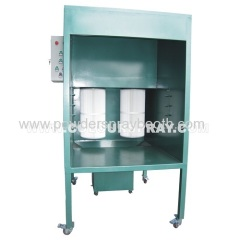 powder coating booth with Recovery System