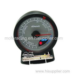 60mm white face air fuel ratio gauge