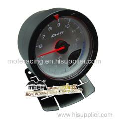 Digital 60 mm white face exhaust temp gauge
