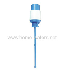 water bottle manual hand press water pump
