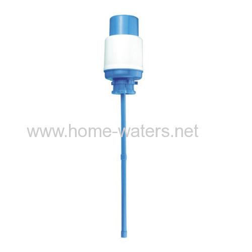 water bottle manual hand press water pump