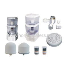 Counter top mineral water purifier pot