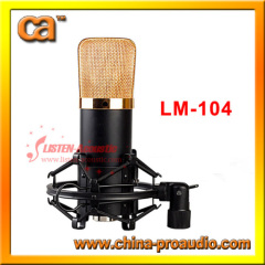 High Quality Diaphragm Condenser Microphone for Studio recording