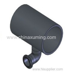 HDPE Slurry Drainage Tee Pipe Fittings