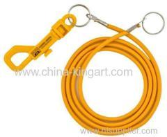 Bungee cord lanyard Claw Lobster Lanyard Elastic Cord Lanyard