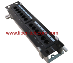 1U Rack Mount Patch Panel