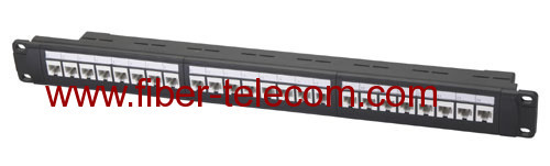 CAT.6 UTP Patch Panel 24 ports