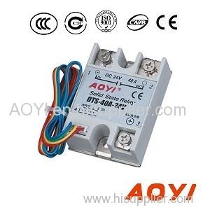 Adjustable 24V DC solid state relay DTS-40A-24V DTS-40A-24V