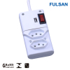 Individual Switch USB Power Strip