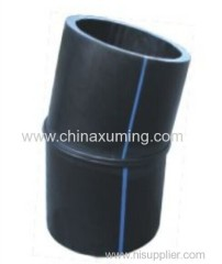 HDPE Fabrocated 11.5° Elbow Pipe Fittings