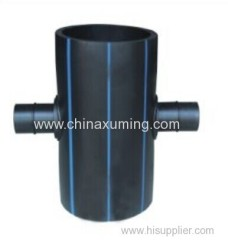 HDPE Fabrocated Reducing Cross Pipe Fittings