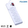 Hot selling 5 outlet electrical usb power strip