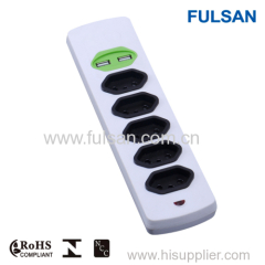 USB multiple electrical power strip