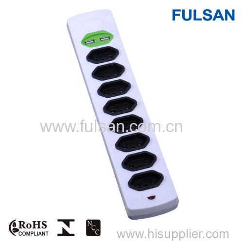 10A electrical usb power socket 220v