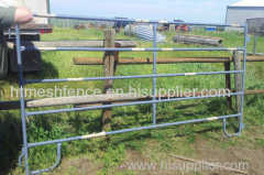 Light weight iron rod horse panels