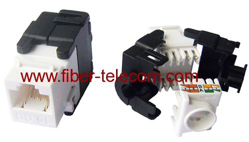 CAT.6A Unshielded UTP Keystone Jack