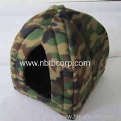 hot selling cat pet foldable fabric/foldable house with a camouflage coat