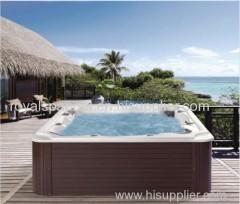 garden outdoor jacuzzi hot tub design