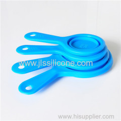 silicone heat resistant measuring spoon