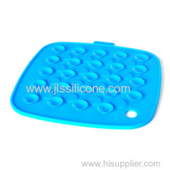 Anti slip resistant proof large silicone mat