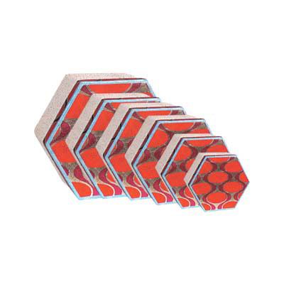 hexagonal birthday paper gift box