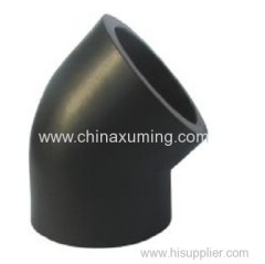 HDPE Socket Fusion 45 Degree Bend Fittings